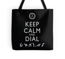 Keep Calm and Dial Earth Tote Bag