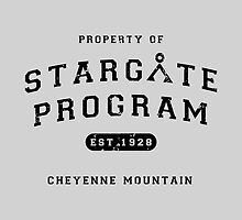 Property of Stargate Program by boogiebus