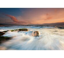 North Wollongong Seascape Photographic Print