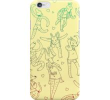 Animal Dance Party iPhone Case/Skin
