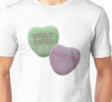 mobo candy hearts sticker Unisex T-Shirt