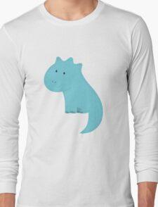 Cute cartoon dinosaur 1. Long Sleeve T-Shirt