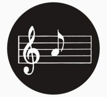 A Musical Note Kids Tee