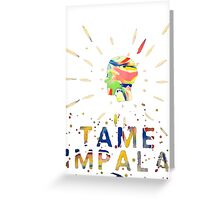 tame impala  Greeting Card