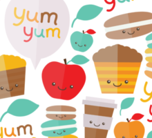 yum yum Sticker
