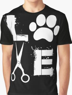 Dog Grooming Love  Graphic T-Shirt