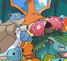 Pokémon 2 evolutions by PMckennaDesigns