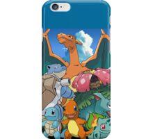 Pokémon 2 evolutions iPhone Case/Skin