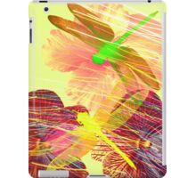 Orchids Orchids Dragonflies iPad Case/Skin