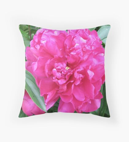 A Pink Peony - Pillow & Tote Throw Pillow