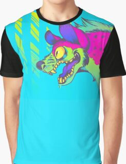 Neon Hyena Graphic T-Shirt