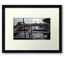 Main Frame Framed Print