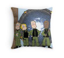 Stargate  Throw Pillow