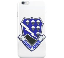 Currahee Patch 101st Airborne iPhone Case/Skin