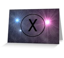 The Truth is Out There - Galaxy Greeting Card