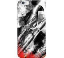 Abstract Fire bird phone case iPhone Case/Skin