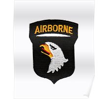 101st Airborne Patch -  iPad Case Poster