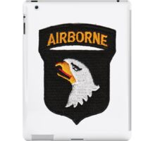 101st Airborne Patch -  iPad Case iPad Case/Skin