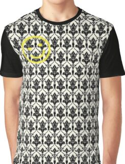 BBC Sherlock 'Bored Smiley Face'  Graphic T-Shirt