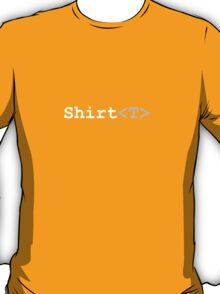 C# Generics T-Shirt (Dark) T-Shirt
