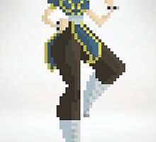 Chun Li - Street Fighter 8Bit by izaksmells
