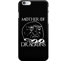Game of Thrones - Mother of Dragons - Black iPhone Case/Skin