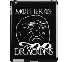 Game of Thrones - Mother of Dragons - Black iPad Case/Skin