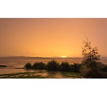 Lake Macquarie Sunset Photographic Print