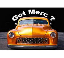 1950 Mercury Custom 'Got Merc?' Photographic Print