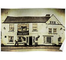 The Bull Pub Theydon Bois Essex Poster