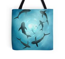 Dangerous sea Tote Bag