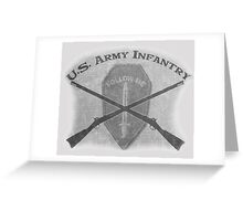 U.S. Infantry - Follow Me Greeting Card