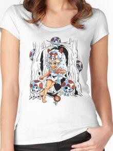 Toadonoke Hime Women's Fitted Scoop T-Shirt