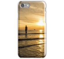 Sunset at Crosby Beach iPhone Case/Skin