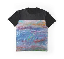 Untitled V - Silver Graphic T-Shirt