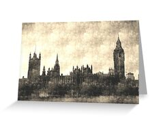 Westminster Vintage art Greeting Card
