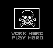 Work Hard, Play Hard (Phone Case) by juandiegonunezc