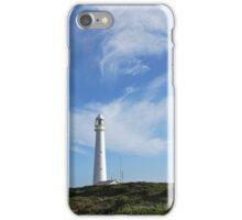 Lighthouse and clouds - phone case iPhone Case/Skin