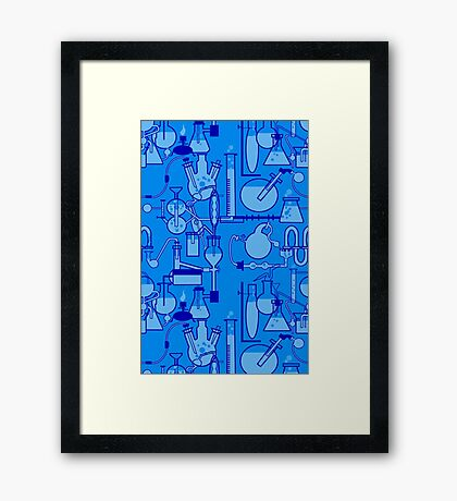 Lab Wear Framed Print