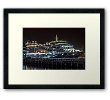 Queen Victoria in Liverpool Framed Print