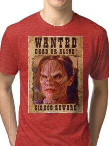 Buffy Anya Emma Caulfield 3 Wanted Tri-blend T-Shirt