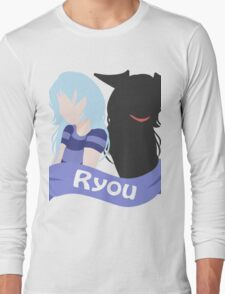 YuGiOh Hikaris and Yamis Bakura version Long Sleeve T-Shirt