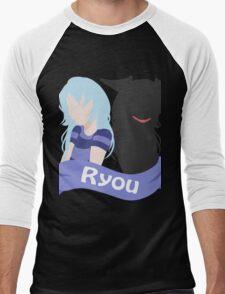 YuGiOh Hikaris and Yamis Bakura version Men's Baseball ¾ T-Shirt