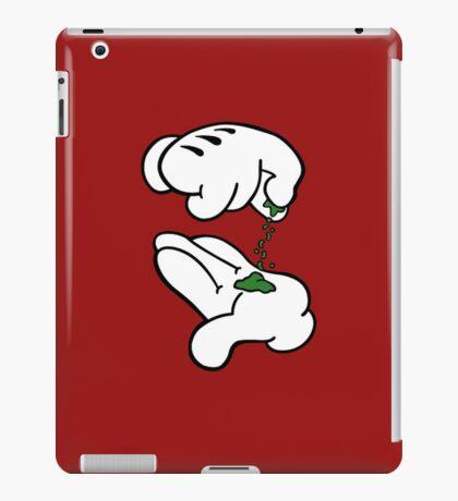 Mickey Hands Weed iPad Case/Skin