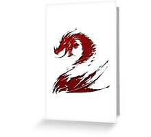 GW2 (Guild Wars 2) Icon Greeting Card