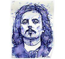 ALFRED JARRY portrait Poster