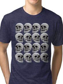 Skull Lines Tri-blend T-Shirt