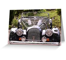 Good old Cars. Greeting Card