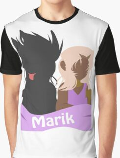 YuGiOh Hikaris and Yamis Marik version Graphic T-Shirt