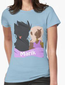 YuGiOh Hikaris and Yamis Marik version Womens Fitted T-Shirt